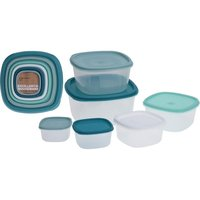 Excellent Houseware Voorraaddozen Set 12-delig Wit/Groen