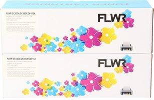 FLWR Canon 718 Duopack zwart (Huismerk (compatible))