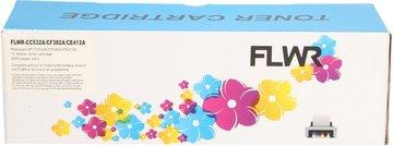 FLWR Canon 718Y geel (Huismerk (compatible))