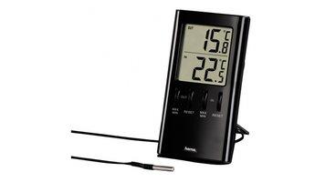 Hama LCD Thermometer T-350 Zwart