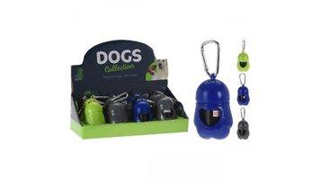 Dogs Collection Honden Zakjes met Houder 20 Stuks Assorti
