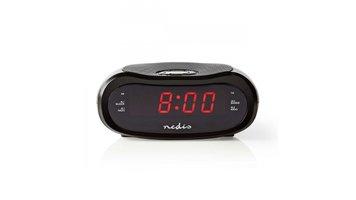 Nedis CLAR001BK Digitale Wekkerradio Led Van 0,6