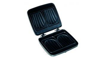 FriFri M005 Verwisselbare Tosti Platen voor FriFri Wafelijzers Zwart