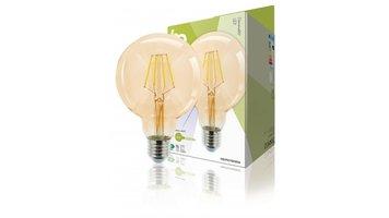 HQ HQLFE27G95002 Led Retro Filament Lamp E27 Dimbaar G95 4 W 320 Lm 2500 K