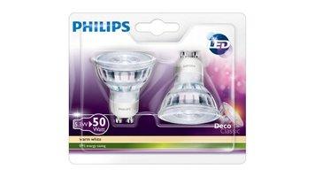 Philips LED5,3W(50W)GU10DUOPack LED Reflectorlamp