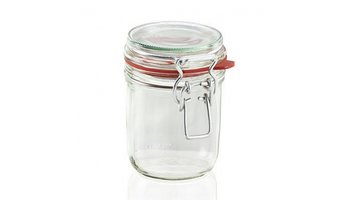 Leifheit 3192 Weckpot met Beugelsluiting 370 ml Glas/RVS