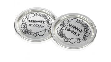 Leifheit 36400 Deksel Voor Glazen Inmaakpot 12 stuks