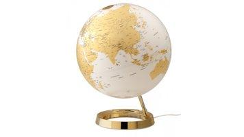 Atmosphere NR-0331F7NQ-GB Globe Bright Gold 30cm Kunststof Voet Verlichting