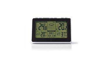 Nedis WEST400BK Weerstation Draadloze Sensor Alarmklok Weersvoorspelling