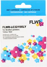 FLWR Brother LC-3219XLY geel (Huismerk (compatible))