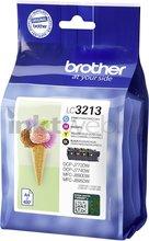 Huismerk Brother LC-3213 Multipack zwart en kleur (Compatible XXL)