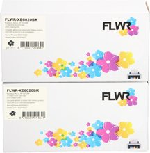FLWR Xerox FLWR Xerox Phaser 6020 zwart 2-pack zwart (Huismerk (compatible))