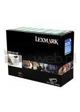 Lexmark X651A11E zwart (Origineel)