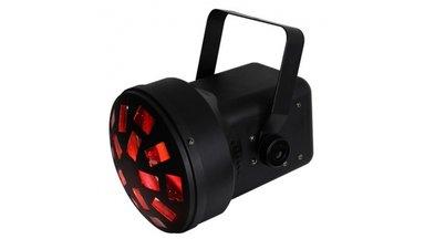 Ibiza Light Mini Mushroom LED Lichteffect RGBaw