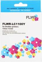 FLWR Brother LC-1100Y geel (Huismerk (compatible))