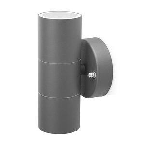 Smartwares GWL-176-HG Buiten Wandlamp Grijs/RVS