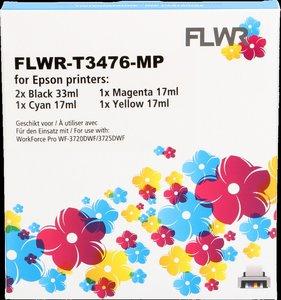 FLWR Epson 34XL Multipack zwart en kleur (Huismerk (compatible))