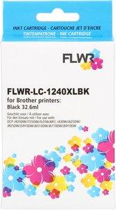 FLWR Brother LC-1240XL zwart (Huismerk (compatible))