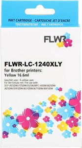 FLWR Brother LC-1240XL geel (Huismerk (compatible))
